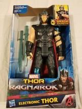 Marvel Avengers Thor Ragnarok Sonidos Fx Figura de Acción Electrónico Th... - $32.78