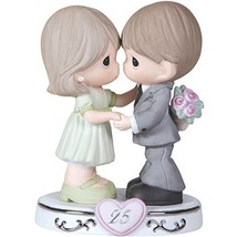 Precious Moments,  Through The Years - 25th Anniversary, Bisque Porcelai... - $73.03