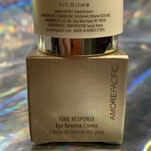 AMORE PACIFIC TIME RESPONSE EYE RESERVE CREME 3 ML TRAVEL SIZE image 2