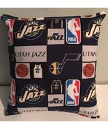 Jazz, Pillow Utah, Jazz, Pillow NBA Handmade in USA Pillow, Basketball, ... - $11.96