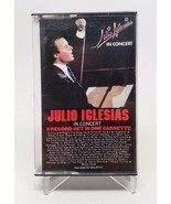 In Concert by Julio Iglesias Cassette Tape 1983 Columbia Records - $8.41