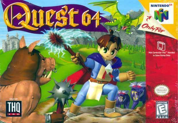 Quest 64 N64 Great Condition Fast Shipping