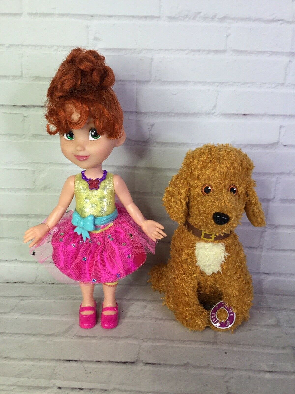 Primary image for Disney Junior Fancy Nancy Shall We Be Fancy Talking Doll And Frenchy Plush Toy