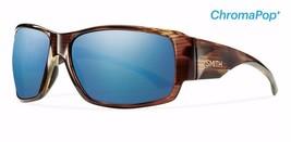 SMITH OPTICS MEN'S DOCKSIDE SUNGLASSES HAVANA, CHROMAPOP POLARIZED BLUE ... - $219.00
