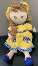 "1996 San Francisco Music Box Company Musical Plush Fabric 12"" Doll VERY ... - $47.39"