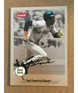 Bobby Bonds 2002 Fleer Greats AUTOGRAPH Baseball Card GIANTS NM/M Condition - $22.49