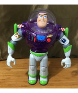 Vintage Disney Pixar Toy Story Interstellar Buzz Lightyear Thinkway Purp... - $118.80