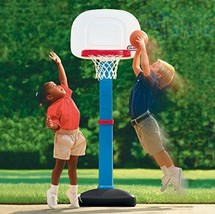 Kids Basketball Hoop Set Little Tikes Easy Score 3 Balls Toddler Training Toys - $49.52