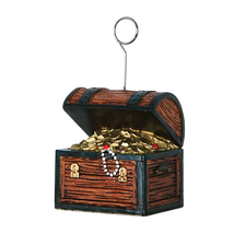 Beistle Party Decoration Treasure Chest Photo/Balloon Holder 6 Oz - 6 Pack - £24.54 GBP