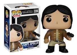 Classic Battlestar Galactica Capt. Apollo Vinyl POP Figure Toy #228 FUNKO NEW - $13.54