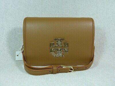 NWT Tory Burch Bark Leather Britten Combo Cross Body bag/Clutch  - $425