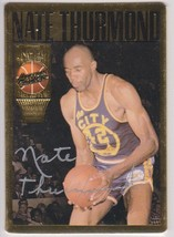 Nate Thurmond Signed Autographed 1994 Action Packed Basketball Card - Go... - $19.99