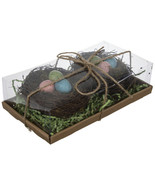 Speckled Eggs In Nests 2 four inch nests per Package - $10.50