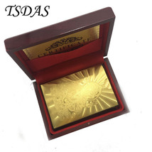 India God 24k Gold Playing Card 54pcs/deck Gold Plated Poker Card With G... - $14.50
