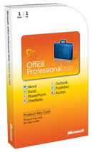 Microsoft Office 2010 Professional Plus 32/64 Bit - 1PC Lifetime License... - $9.89