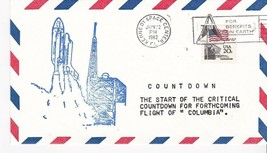 START OF CRITICAL COUNTDOWN COLUMBIA KENNEDY SPACE CTR, FLORIDA 6/22/1982 - $1.78