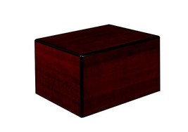 Society Cherry 213 Cubic Inches Large/Adult Wood Box Cremation Urn for A... - $149.99
