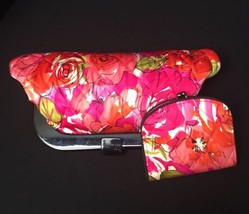 Retired Limited Edition Vera Bradley Millie Clutch Purse and Wallet Sate... - $38.60