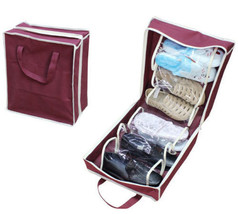 Home Storage Organization Shoes Storage Bags New 2 Layers Travel Shoes B... - $14.04 CAD