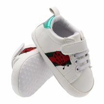 0-18M Baby Toddler Shoes Ladybug Embroidery Walking Shoes G382 - $16.99
