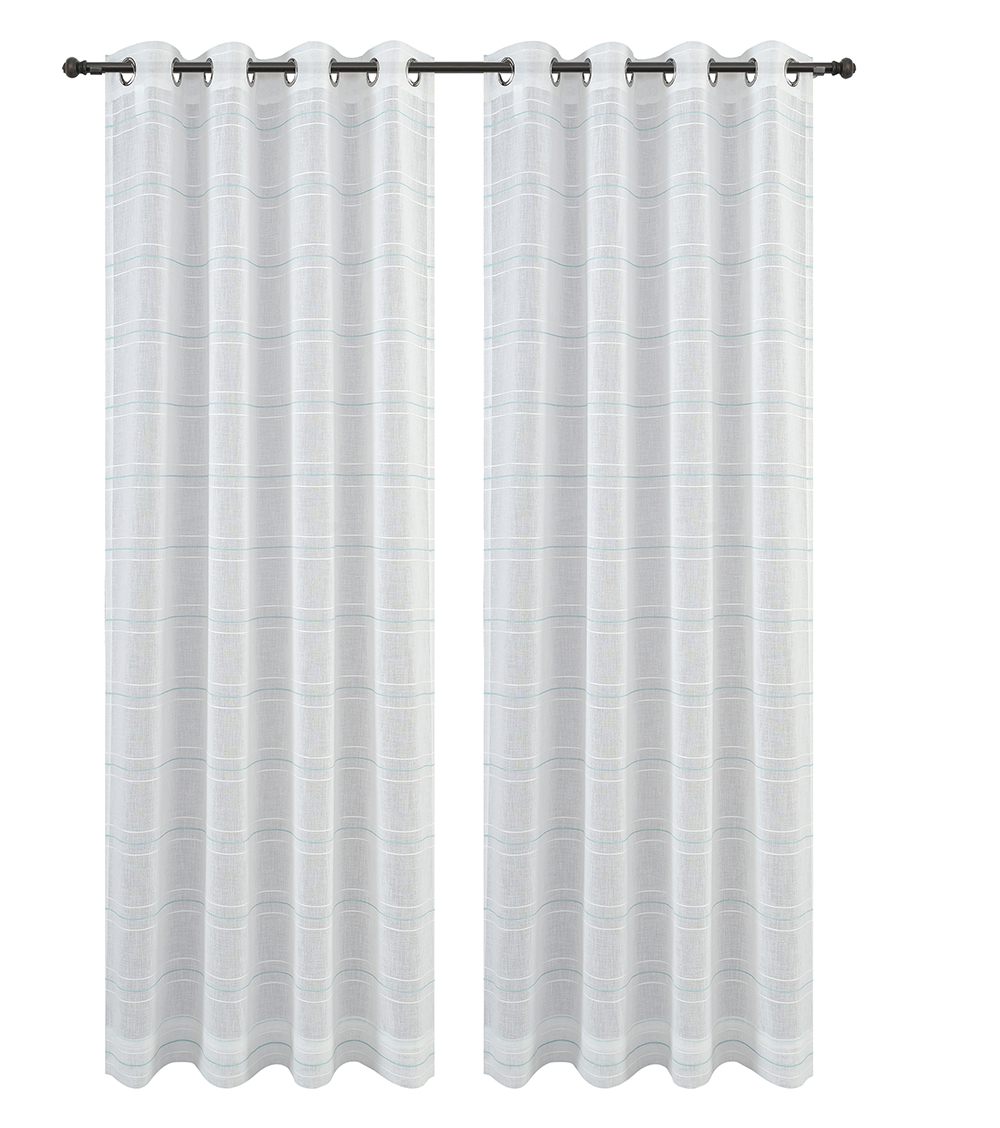 Urbanest Chamon Set of 2 Sheer Curtain Drapery Panels with Grommets image 14