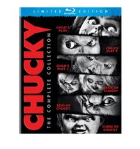 Chucky Collection: Child's Play 1-3 + Bride, Seed, Curse of Chucky  (Blu-ray)