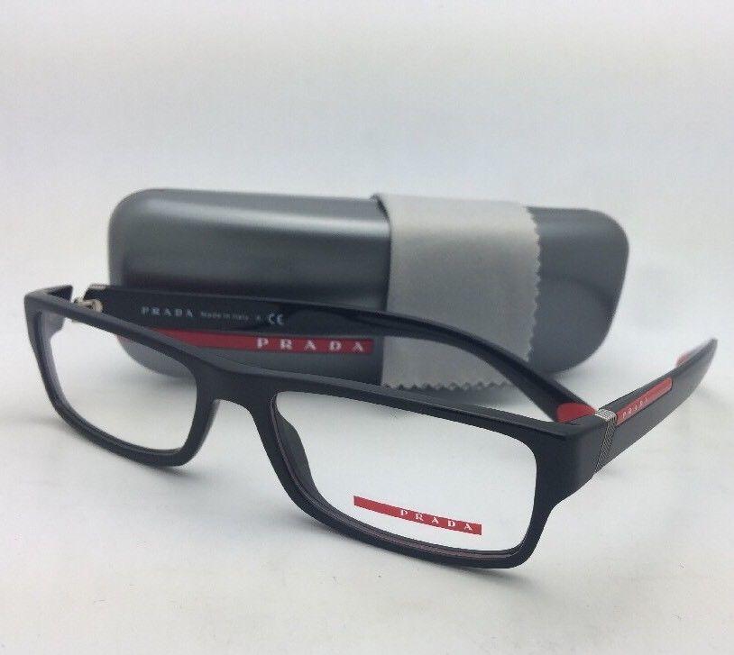 a45ae8720e05 New PRADA Eyeglasses VPS 03C 1AB-1O1 54-17 and 50 similar items