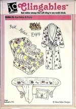 Impression Obsession Rest Relax & Enjoy Rubber Stamp Set #3046-XL - $13.45