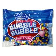 DUBBLE BUBBLE^ 9.08 oz Bag BUBBLE GUM Chewing ORIGINAL FLAVOR Candy HALL... - $4.49