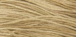 Straw (1121) 6 strand embroidery floss 5yd skein Weeks Dye Works - $2.25
