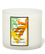 Bath & Body Works Coconut Sandalwood Three Wick.14.5 Ounces Scented Candle - $23.95