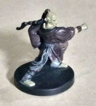 Dungeons & Dragons Miniatures Githzerai Monk #4 D&D Mini Collectible Wizards! - $3.99