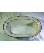 "Covington Idlewild Stoneware Rimmed Oval Vegetable Dish Bowl 10 1/2"" - $9.00"