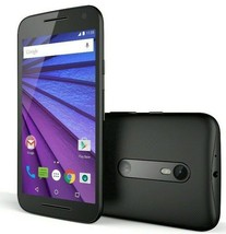 "Motorola Moto G 3rd GEN   5"" Display (GSM UNLOCKED) 8GB Smartphone XT1540 -Black"