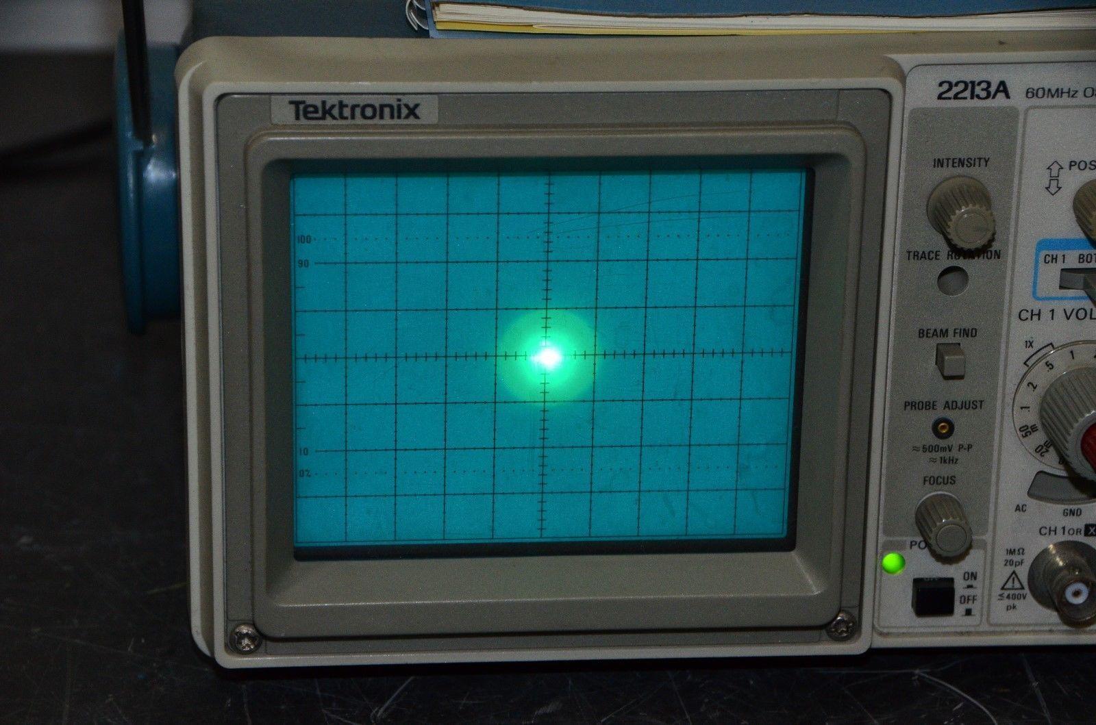 tektronix 2213a 60 mhz analog oscilloscope and 50 similar items rh bonanza com tektronix 2215 manual tektronix 2215 service manual download