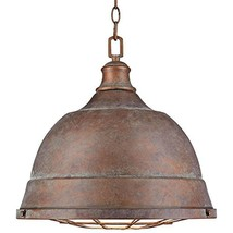 Golden Lighting 7312-L CP Two Light Pendant Bronze - €211,74 EUR