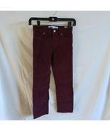 Old Navy Karate Slim Burgundy Corduroy Boys Sz 7 Pants - $7.25