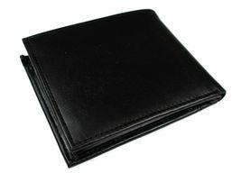 Tommy Hilfiger Men's Leather Credit Card Wallet Billfold Black 5675-01 image 3