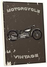 "Pingo World 0725QQQYCOM ""Vintage Low Rider Motorcycle"" Gallery Wrapped Canvas Wa - $47.47"