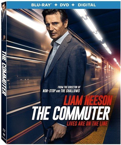 The Commuter [Blu-ray+DVD, 2018]