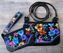 Mommy & Me 6x 10 and 5x7 Midsummer Dream zip bag w/ shoulder strap/wrist... - $35.00