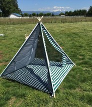 OctoRose Deluxe Portable and Breathable Kids Teepee Play Tent Sun Shelter - $46.74