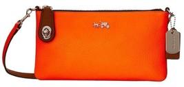 COACH HERALD KYLIE NEON ORANGE CROSSBODY BAG - $97.02