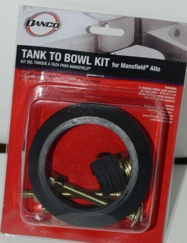 Danco 88913 Tank to Bowl Kit for Mansfield Alto Toilets Black Pkg 1