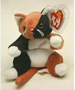 Ty Original Beanie Baby Chip Cat Kitten Beanbag Plush Toy Swing & Tush T... - $16.82