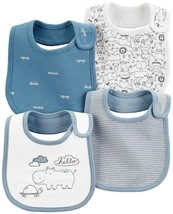 Carter's Baby Boys 4-Pack Teething Bibs with Water Barrier (Koala) - $27.27