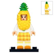 The Pineapple Girl Fruit Series Lego Minifigures Block Toy Gift For Kids - $1.99