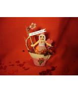 Vintage Inspired Spun Cotton Candy Cup Valentine Piece - $47.99