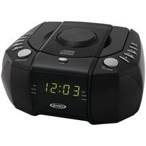JENSEN JCR-310 Dual Alarm Clock AM/FM Stereo Radio with Top-Loading CD P... - $55.35