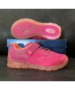 Kids Stride Rite Girls Made 2 Play Lighted Neo Low Top, Pink, Size 2.5 W... - $35.52